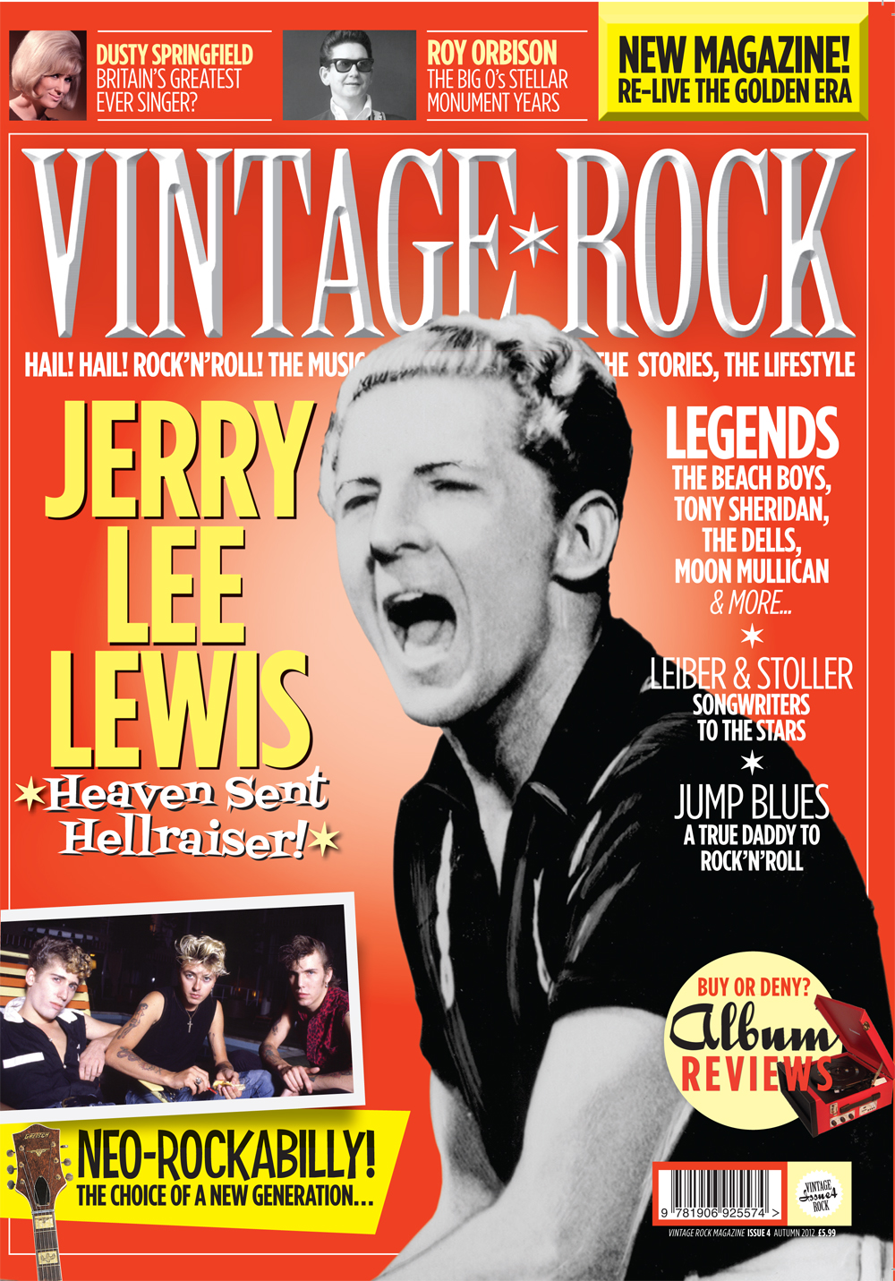 Issue Four Of Vintage Rock Is On Sale Now!