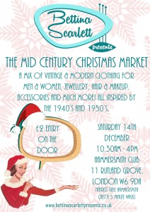 The Mid Century Christmas market