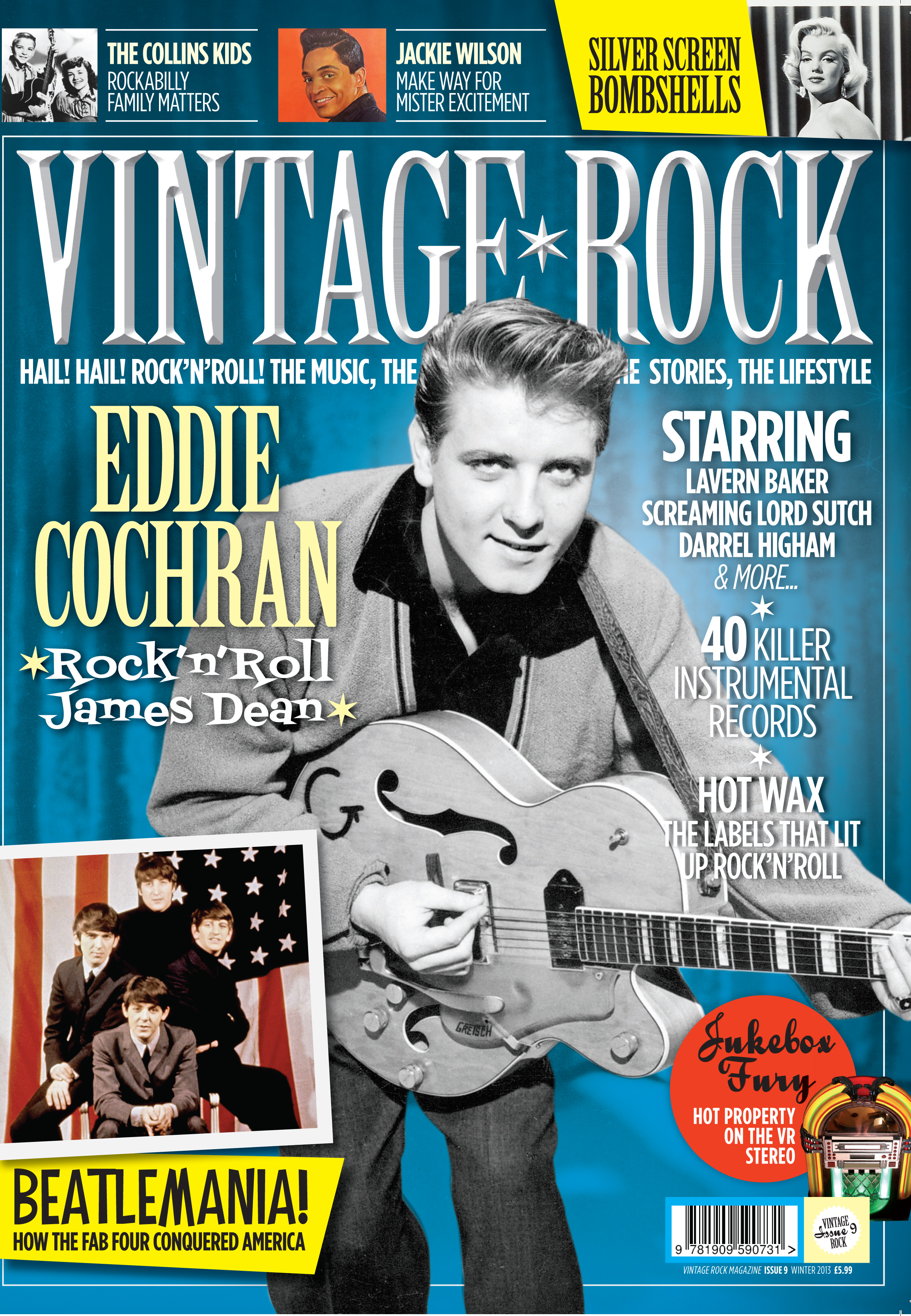 Vintage Rock Issue 9 Is Out Now