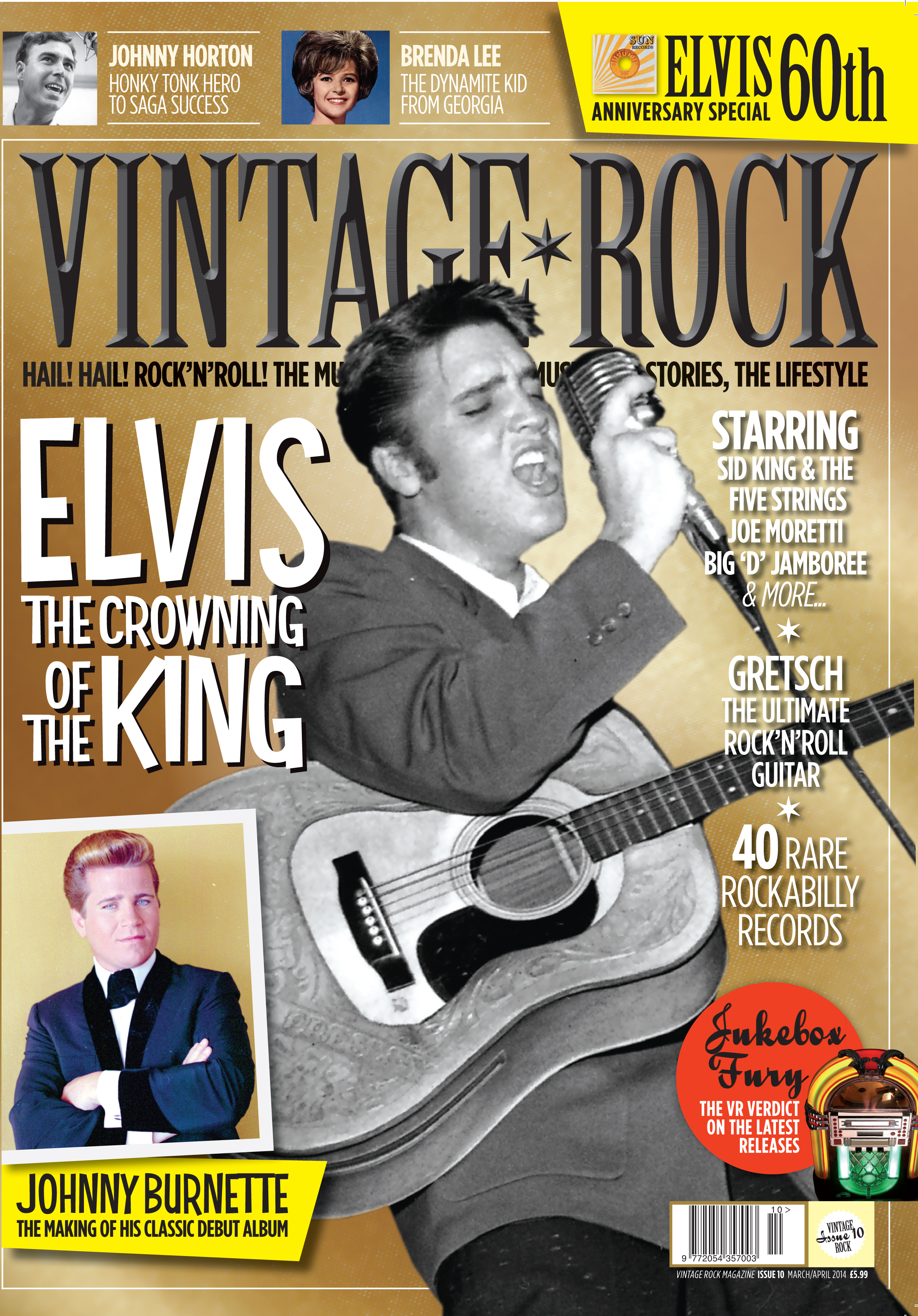 Vintage Rock Magazine Elvis Anniversary Special Out Now