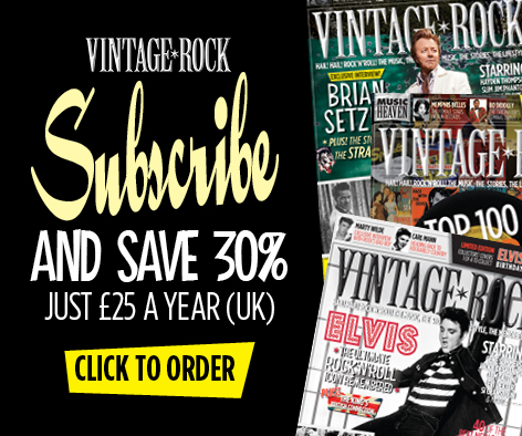 Subscribe to Vintage Rock and Save 30%