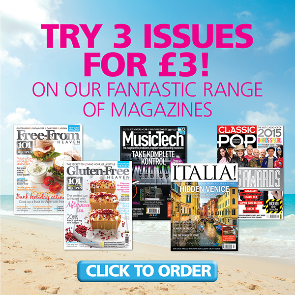3 issues for just £3 in our Summer Sale!