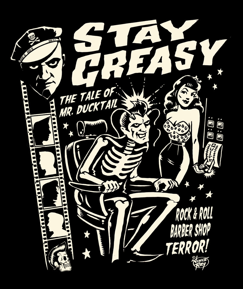 Watch Now – Stay Greasy – Rock 'n' Roll Barbershop Terror