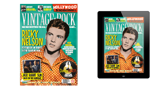 Issue 21 Of Vintage Rock Out Now !
