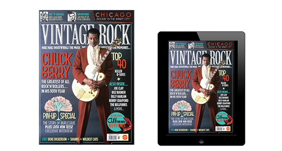 Issue 22 of Vintage Rock is out now!