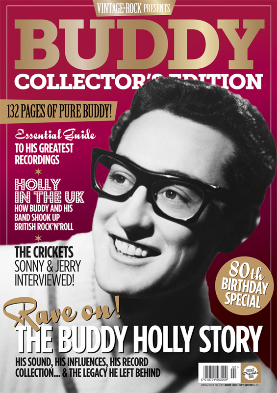 Vintage Rock presents Buddy Holly Collectors Edition out now!