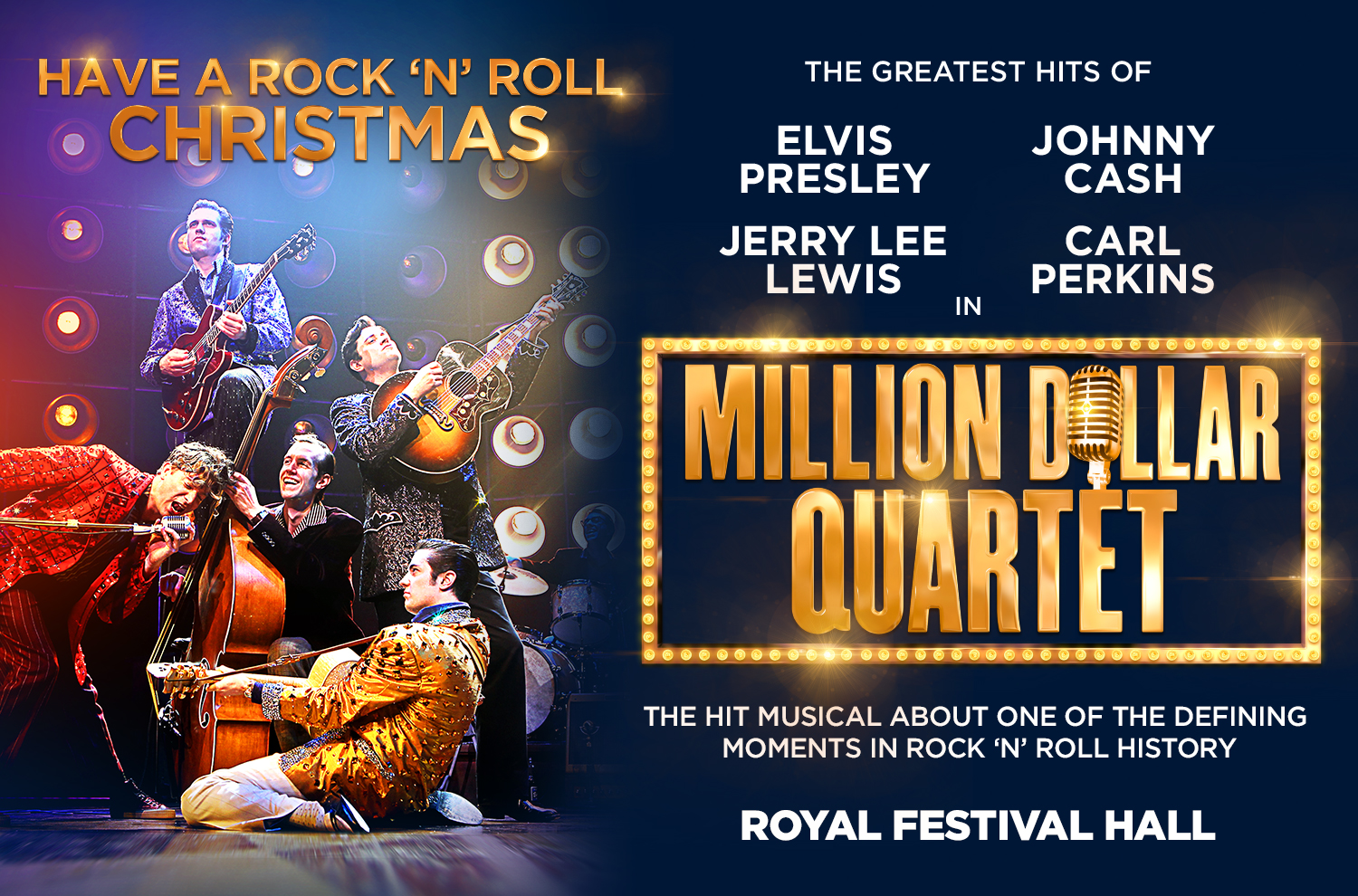 Competition! Tickets to see Million Dollar Quartet!