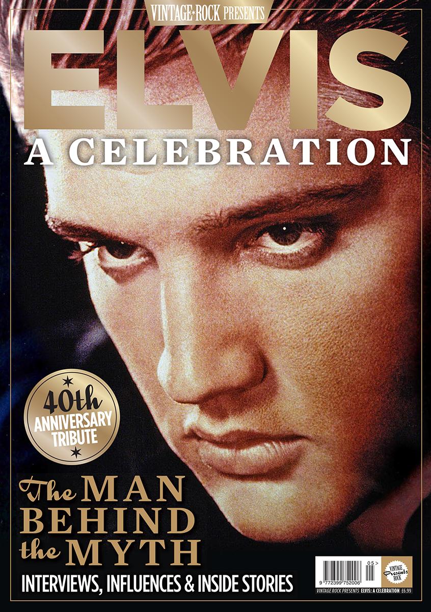 Vintage Rock Presents Elvis is on sale now!
