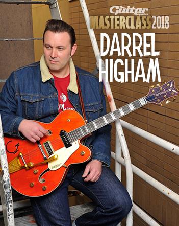 Darrel Higham Guitar Masterclass!