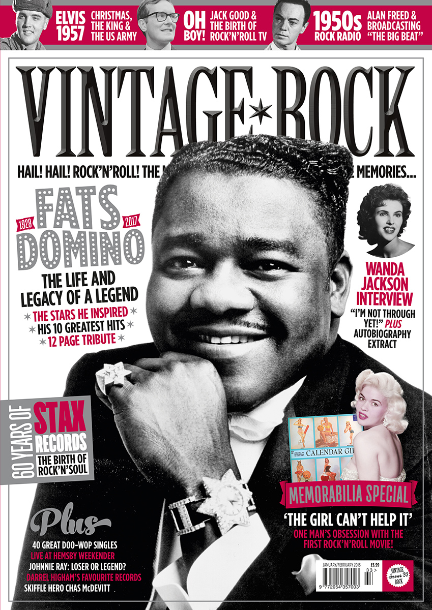 The new issue of Vintage Rock is on sale now!