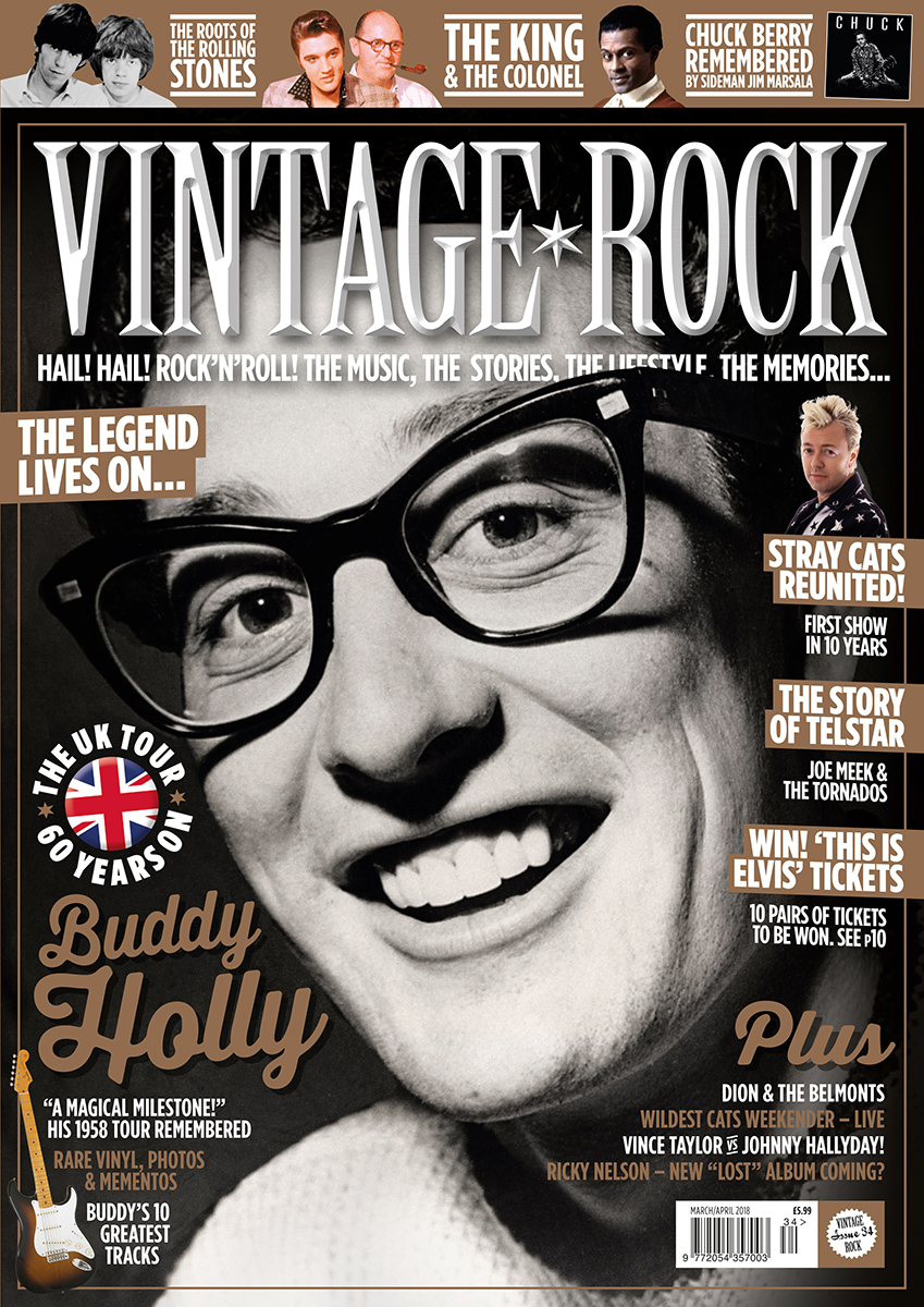 Issue 34 of Vintage Rock is on sale now!