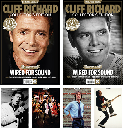 Vintage Rock Presents Cliff Richard is on sale now!