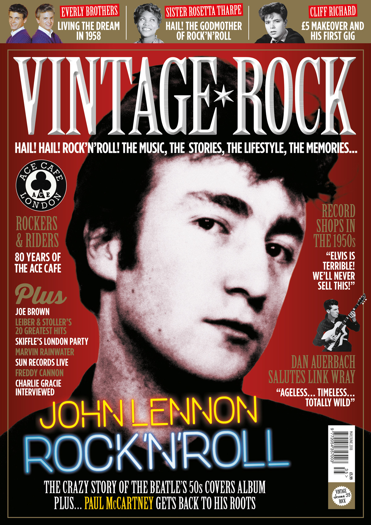 Issue 35 of Vintage Rock magazine is on sale now!