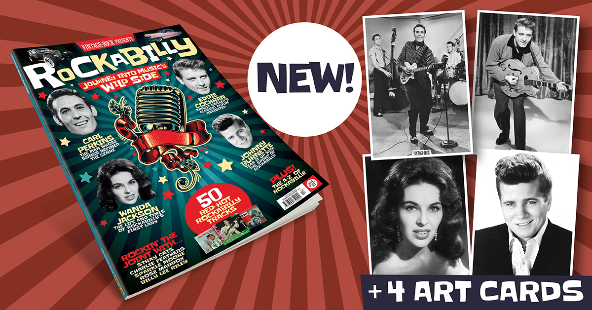 Vintage Rock Presents Rockabilly is now on sale!
