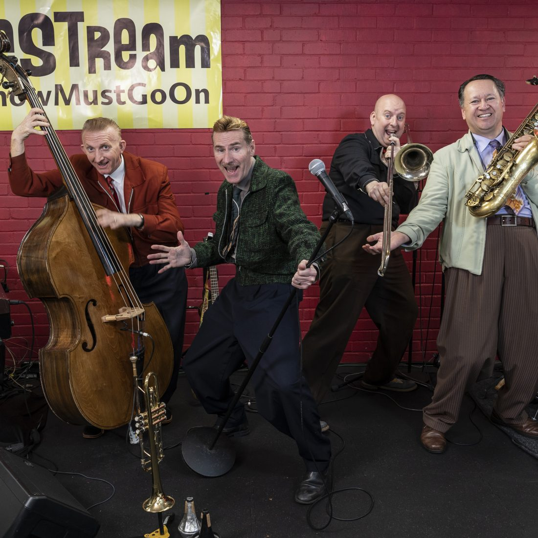 THE SHOW MUST GO ON! – The Jive Aces
