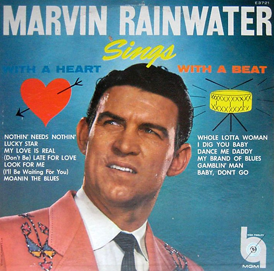 Classic Album: Marvin Rainwater – Sings With The Heart – With A Beat