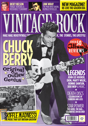 Issue 3 of Vintage Rock is on sale now