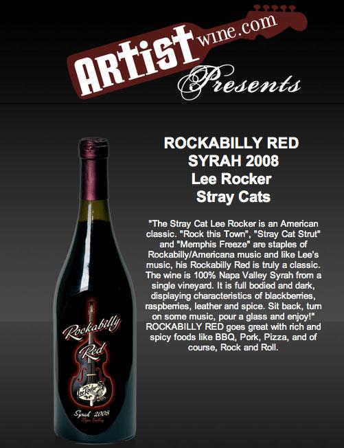 Rockabilly Red Wine