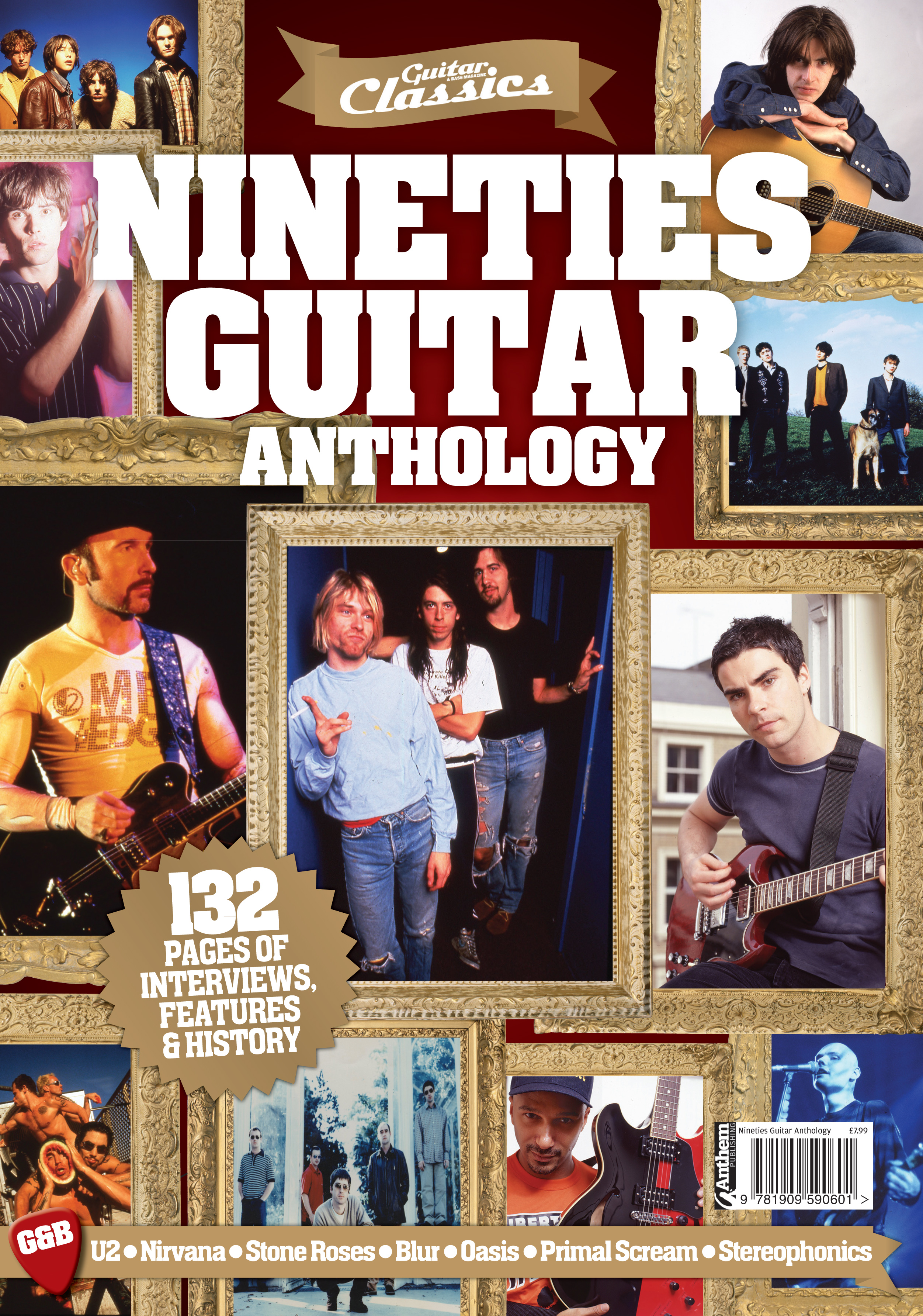 Guitar & Bass Classic Nineties Guitar Anthology Out Now!