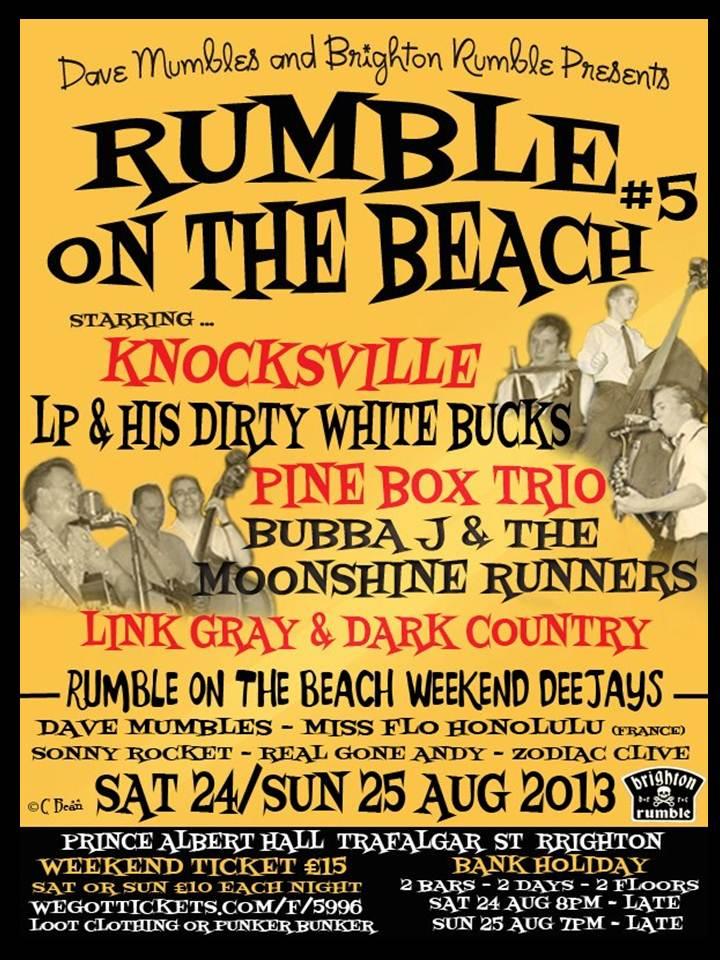 Brighton Rumble On The Beach