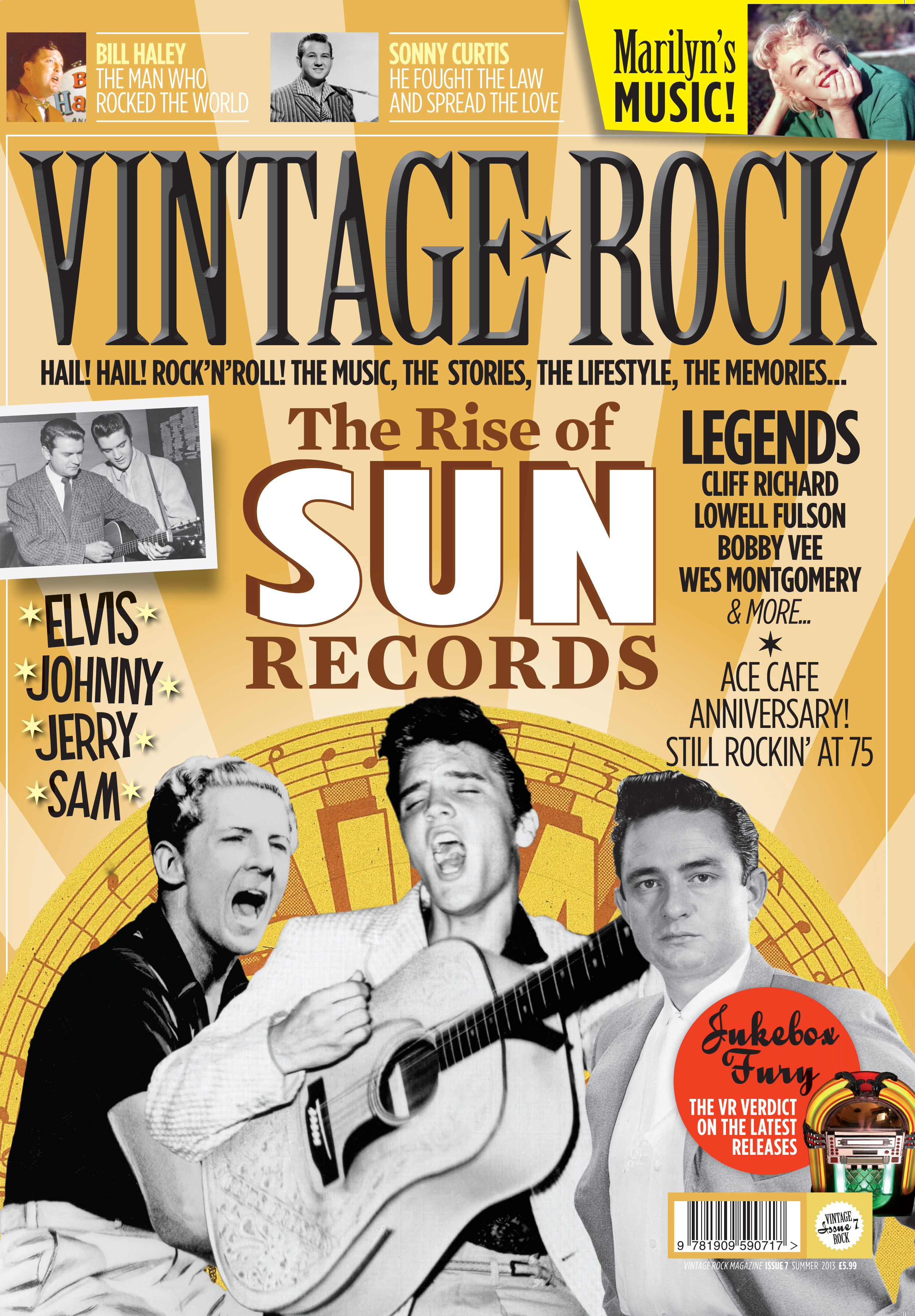 Issue Seven Of Vintage Rock Is On Sale Now!
