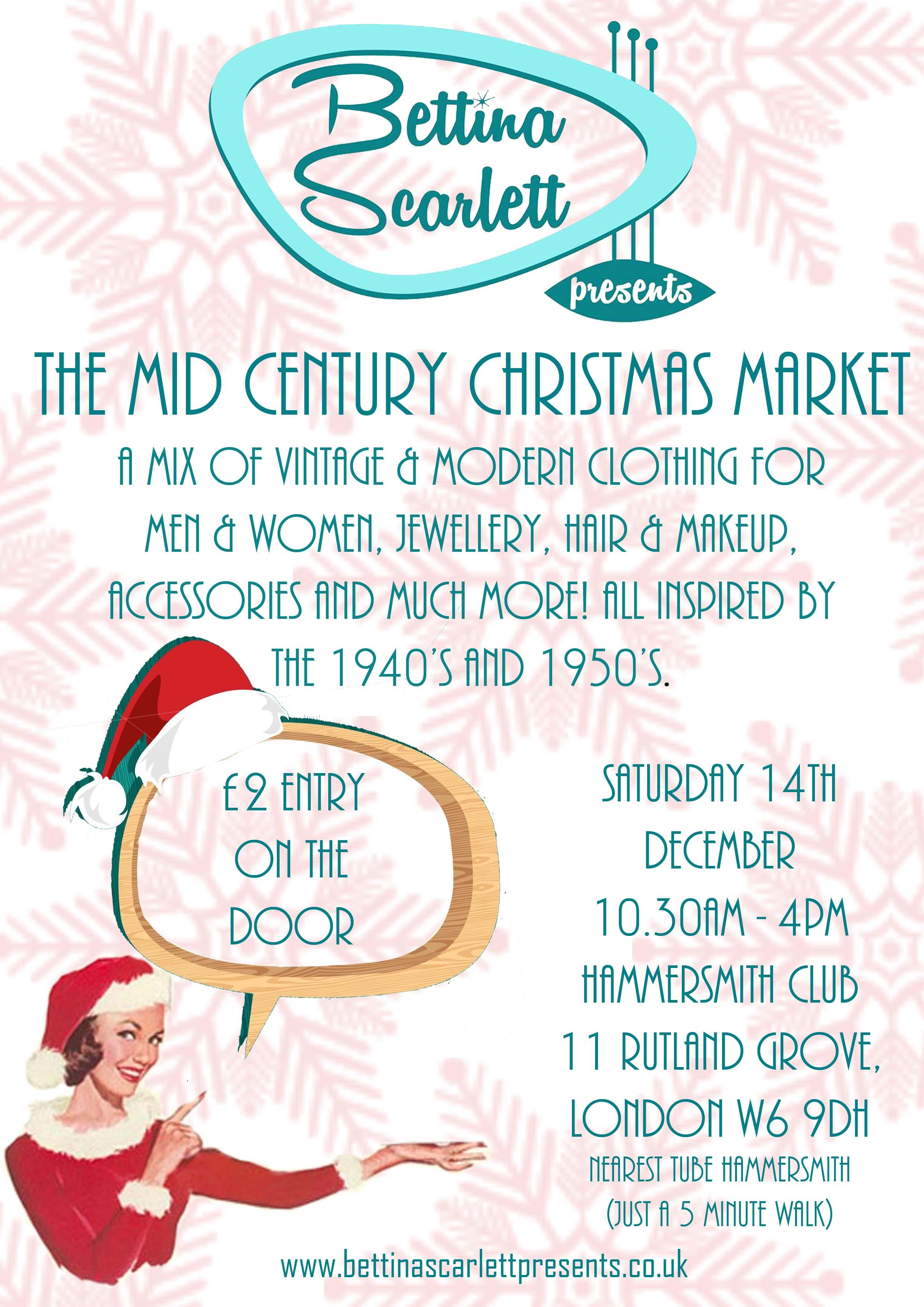 The Mid Century Christmas Market