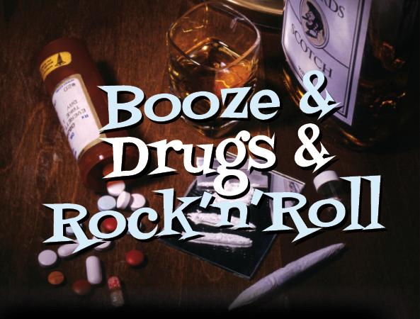 Issue 7: Booze & Drugs & Rock'n'Roll Playlist