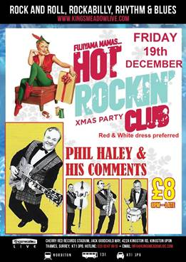 Fujiyama Mamas Hot Rockin' Club Xmas Party – December 19th 2014