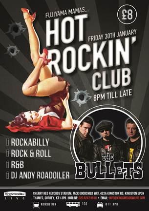 Fujiyama Mamas Hot Rockin' Club – 31st January 2015