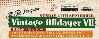 A Rockin' Good Vintage Alldayer – Kingsmeadow – Kingston Upon Thames