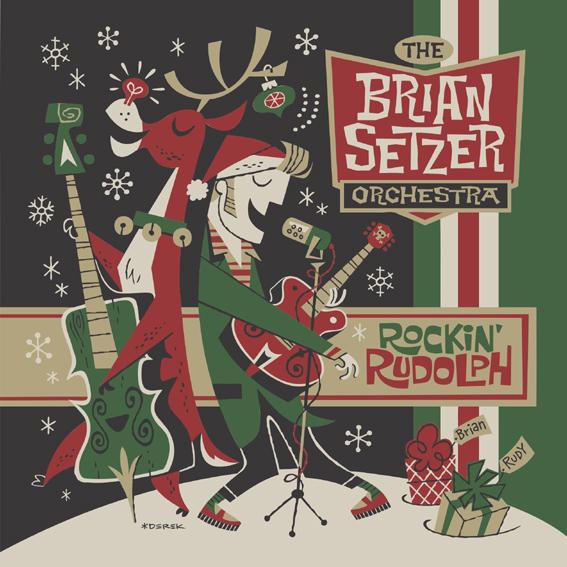 Brian Setzer Orchestra to release Rockin Rudolph