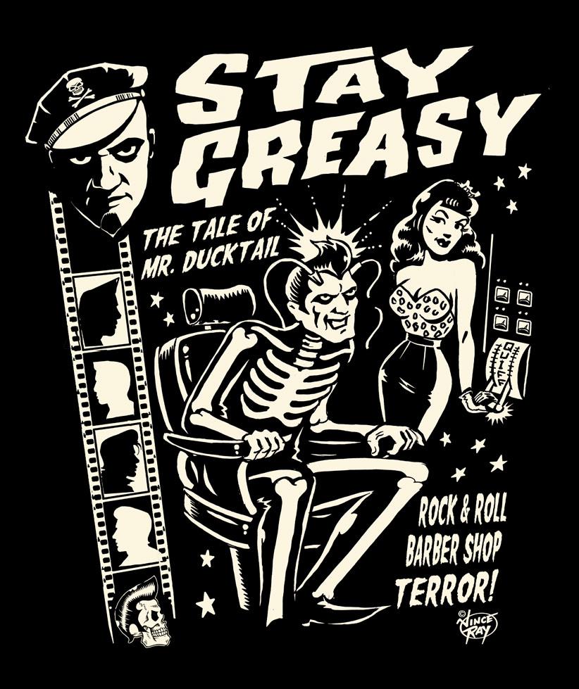 Watch Now – Stay Greasy – Rock 'n' Roll Barbershop Terror