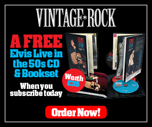 Enjoy a FREE Elvis Live in the 50s CD & Book set