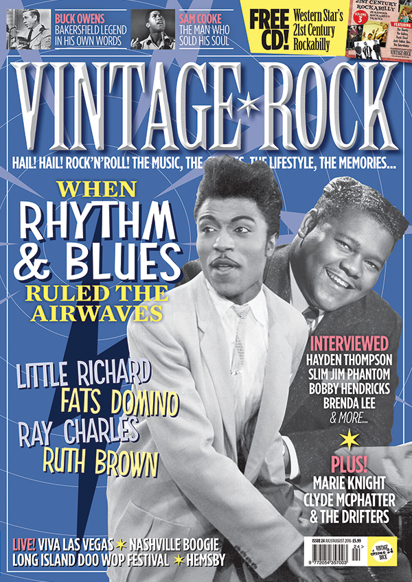 Vintage Rock Issue 24 Out Now + FREE CD!