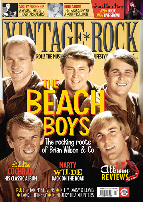 The new issue of Vintage Rock magazine is on sale now!