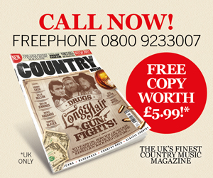 Get a FREE copy of Country Music magazine!