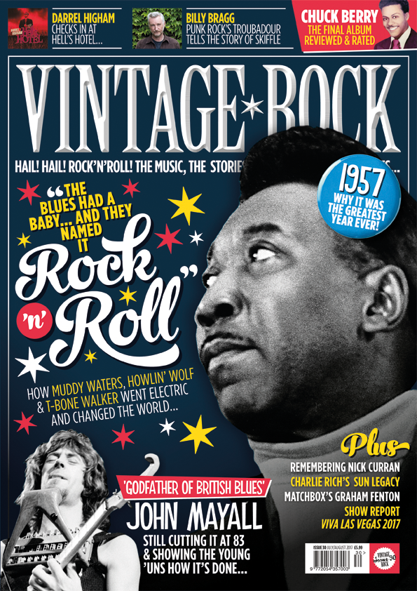 The July/August issue of Vintage Rock is out now!