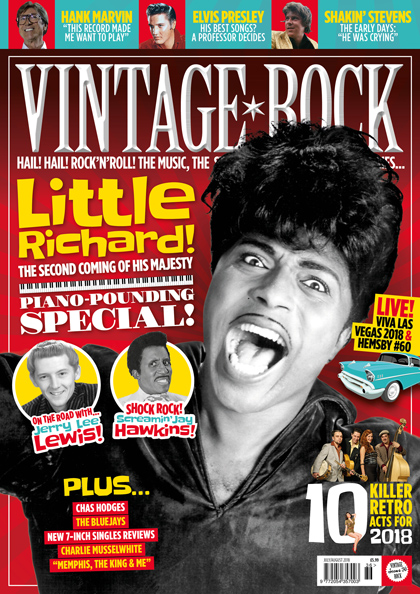 Issue 36 of Vintage Rock is on sale now!