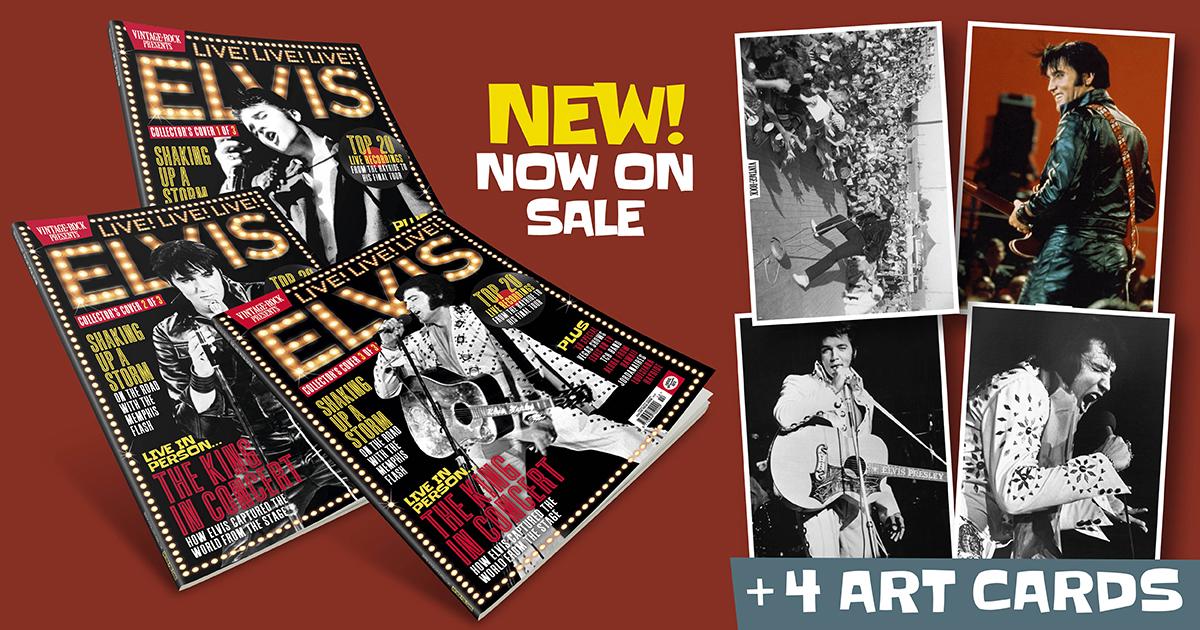 Vintage Rock Presents Elvis Live is now on sale!