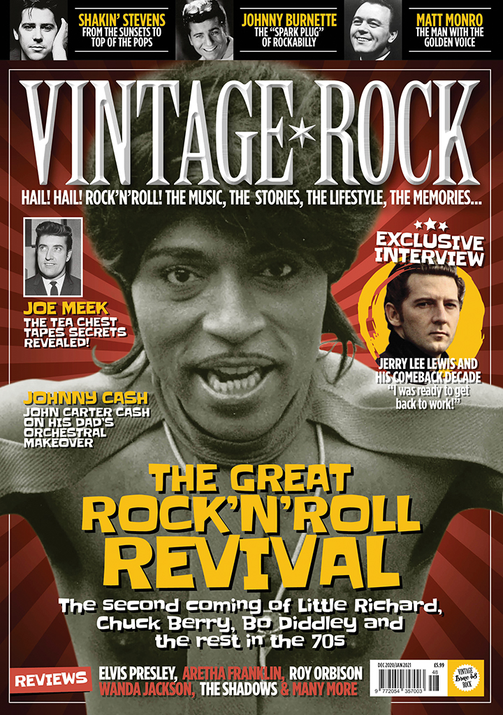 Issue 48 of Vintage Rock is now on sale!