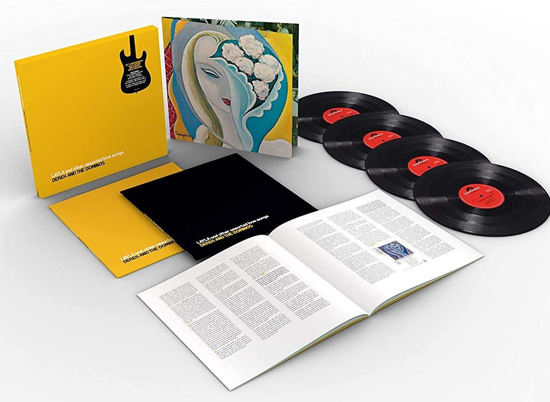 Boxset review: Derek And The Dominos – Layla And Other Assorted Love Songs half-speed remastered vinyl 4LP boxset