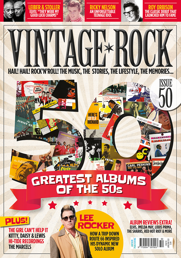 Issue 50 of Vintage Rock is on sale now!