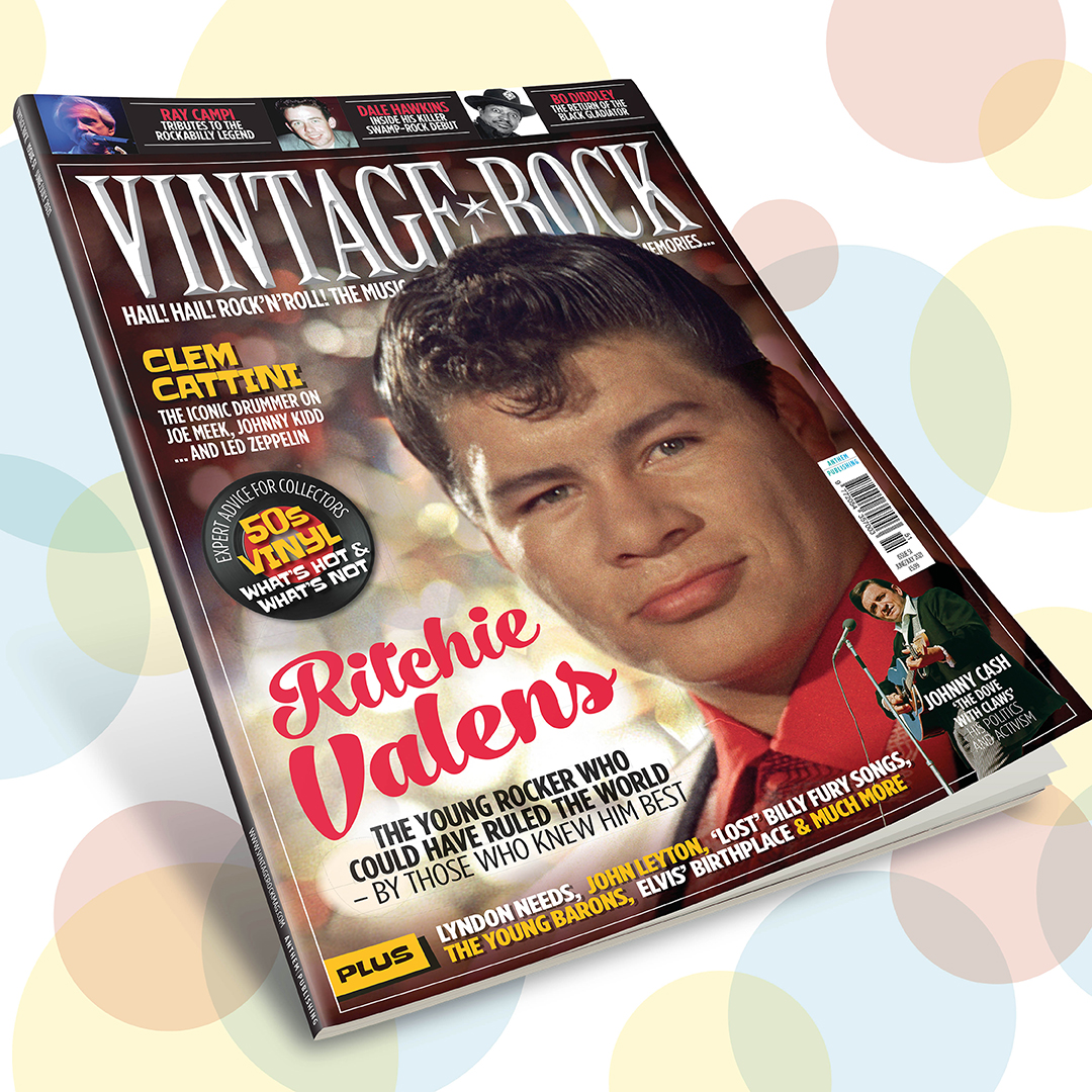 Issue 51 of Vintage Rock is on sale now!